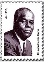 Dr. John Henrik Clarke Stamp Project