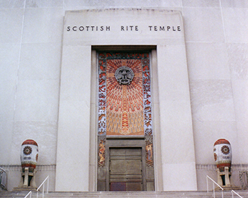 Scottish Rite Temple on 16th Street