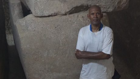Tony Browder and Sarcophagus Discovery